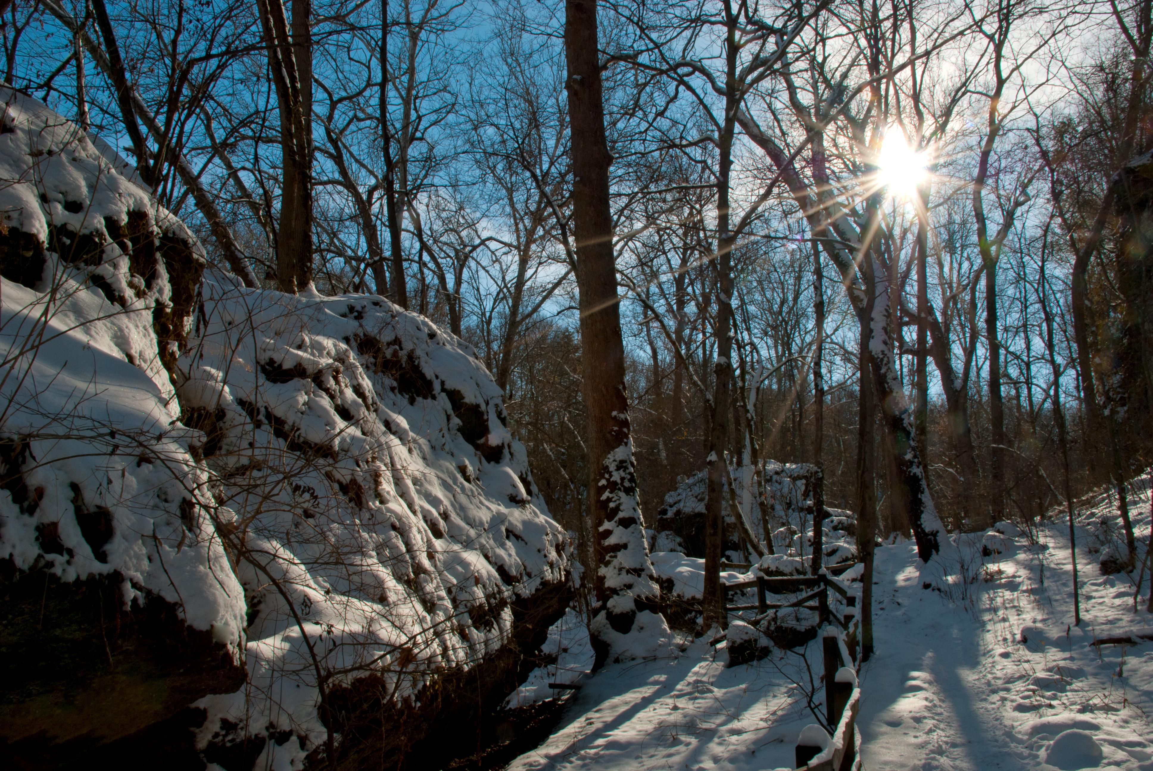 Winter Scenes In The Miami Valley Dayton Ohio Creation